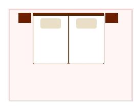 ベッドと部屋の適応サイズ・10帖