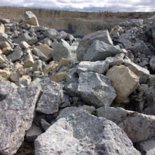 ダイヤモンド鉱石山